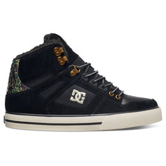 DC Spartan High WC Men's Skateboard Shoes - Black Camo (BLO)