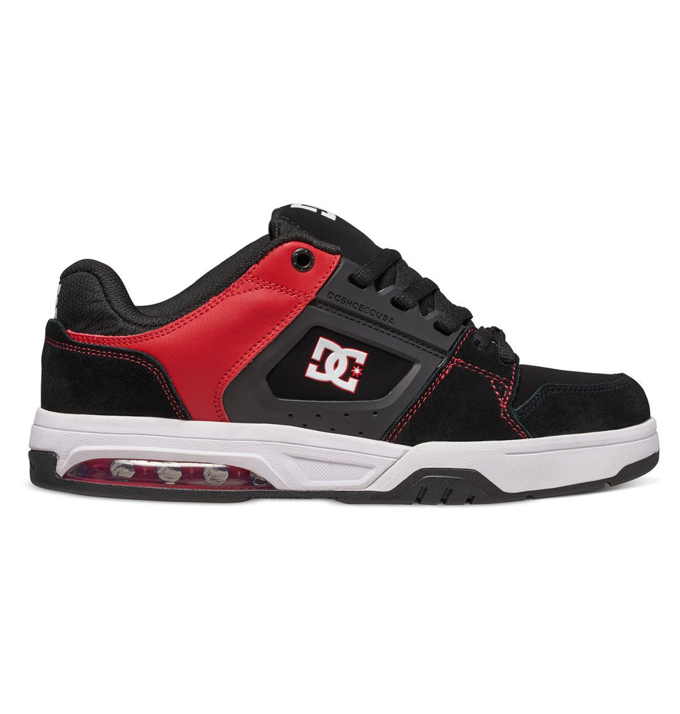 DC Rival Skateboard Shoes - Black/Red (BLR)