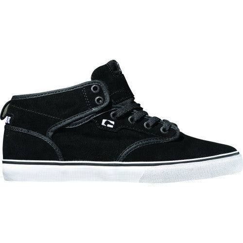 Globe Motley Mid Men's Skateboard Shoes - Black/White