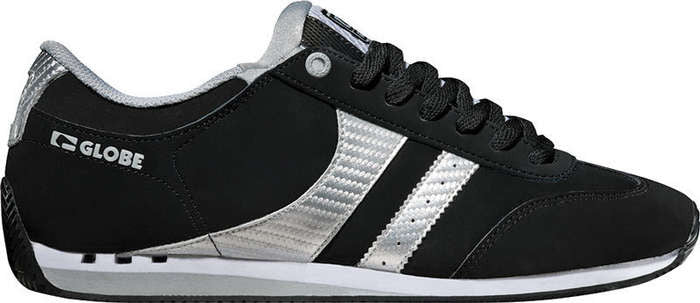 Globe Pulse Plus Men's Shoes - Black/Silver