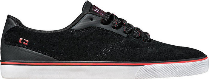 Globe Sabbath - Black/Red - Men's Skateboard Shoes