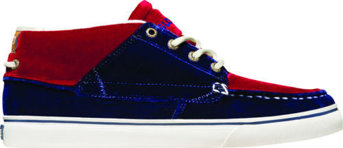 Globe The Bender - Navy/Dark Red - Skateboard Shoes
