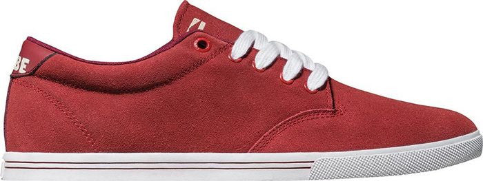 Globe Lighthouse Slim - Brick Red/White - Skateboard Shoes