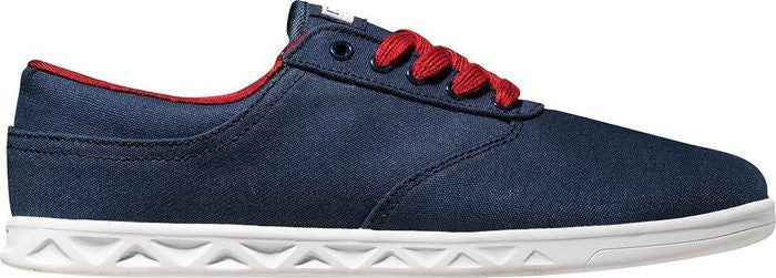 Globe Lyte Men's Skateboard Shoes - Navy/Red