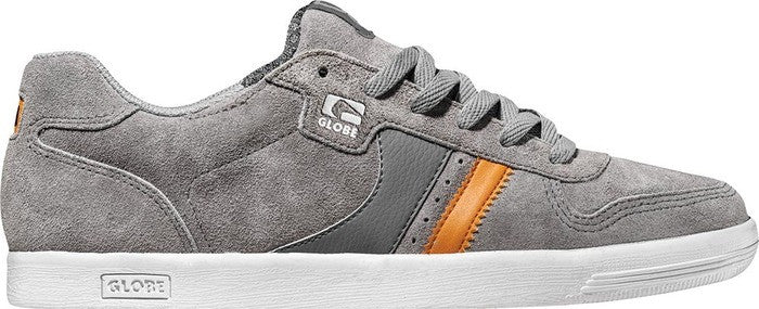 Globe Encore Generation Men's Skateboard Shoes - Mid Grey/Orange