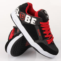 Globe Tilt - Black/Night/Red TPR - Skateboard Shoes