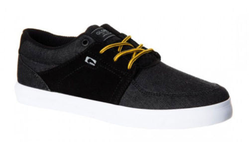 Globe Panther - Black Denim - Men's Skateboard Shoes