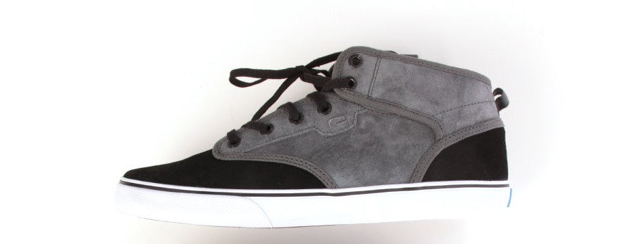 Globe Motley Mid - Charcoal/Black - Skateboarding Shoes