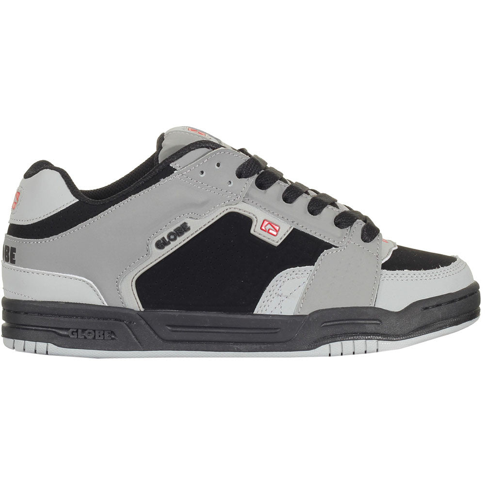 Globe Scribe Skateboard Shoes - Black/Grey/Red