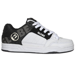 Globe Tilt Skateboard Shoes - Black/Black/White TPR