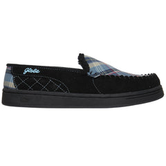 Globe Castro Men's Skateboard Shoes - Black/Blue Plaid