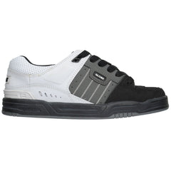 Globe Fusion Men's Skateboard Shoes - Black/Charcoal/White