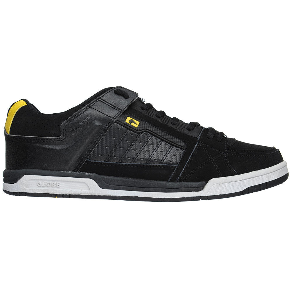 Globe Liberty Men's Skateboard Shoes - Black/Yellow
