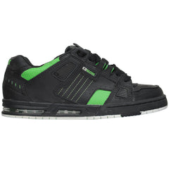 Globe Sabre Men's Skateboard Shoes - Black/Moto Green
