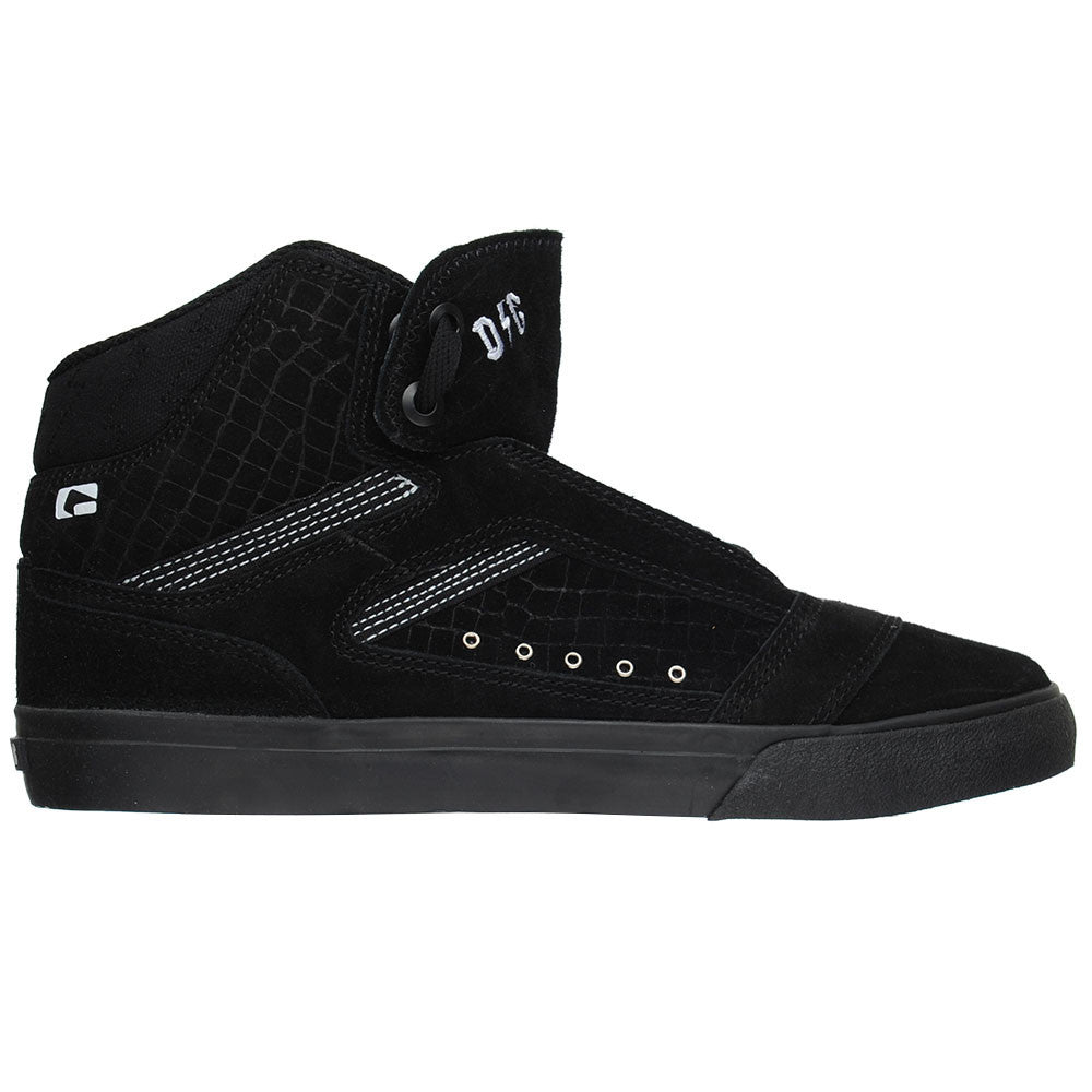 Globe The Heathen Hi Men's Skateboard Shoes - Black/Black