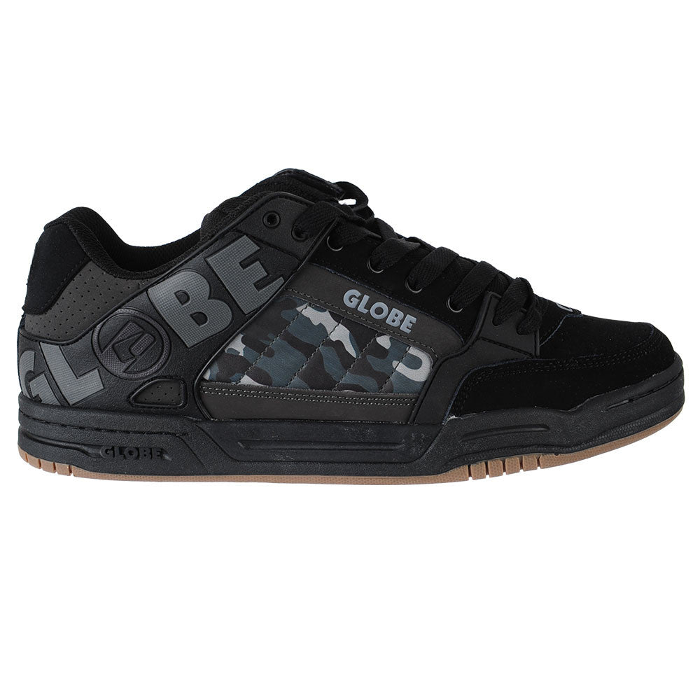 Globe Tilt Men's Skateboard Shoes - Black/Camo TPR