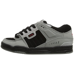 Globe Fusion Skateboard Shoes - Grey/Black/Red