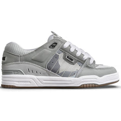 Globe Fusion Men's Skateboard Shoes - Grey/Grey/Camo