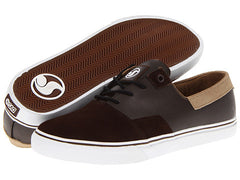 DVS Torey 2 Men's Skateboard Shoes - Brown Leather 200 - Size 12