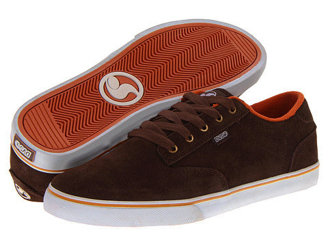 DVS Daewon 12'er - Brown Suede 201 - Skateboard Shoes