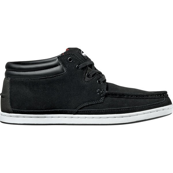 DVS Hunt - Black Suede 001 - Skateboard Shoes