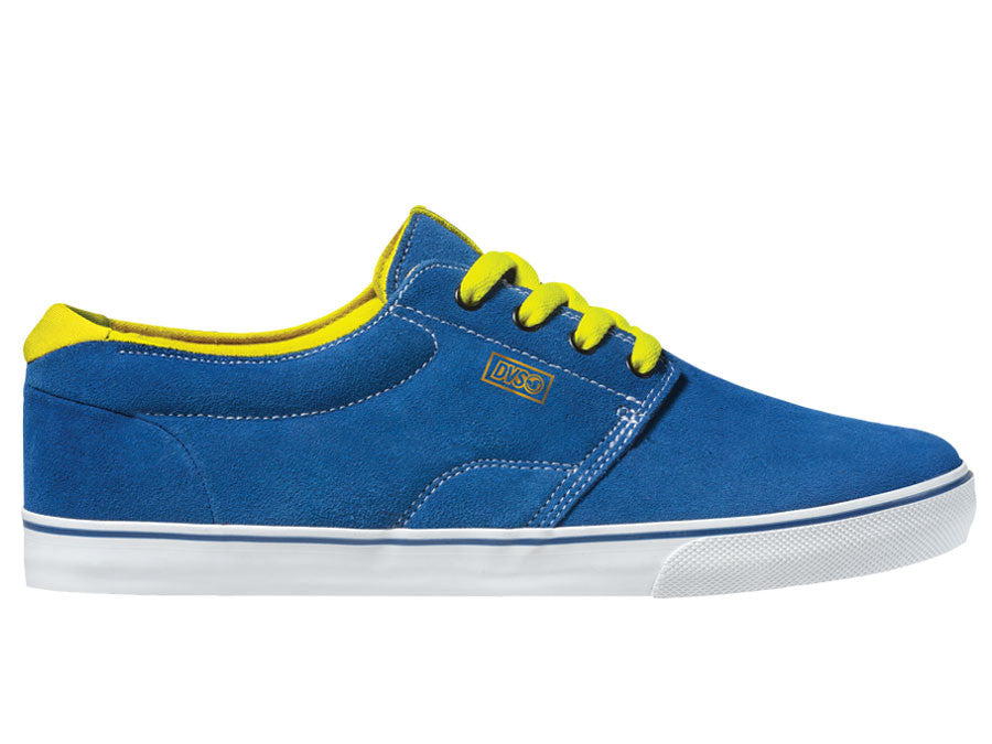 DVS Daewon 13 Ct Men's Skateboard Shoes - Royal Suede 430