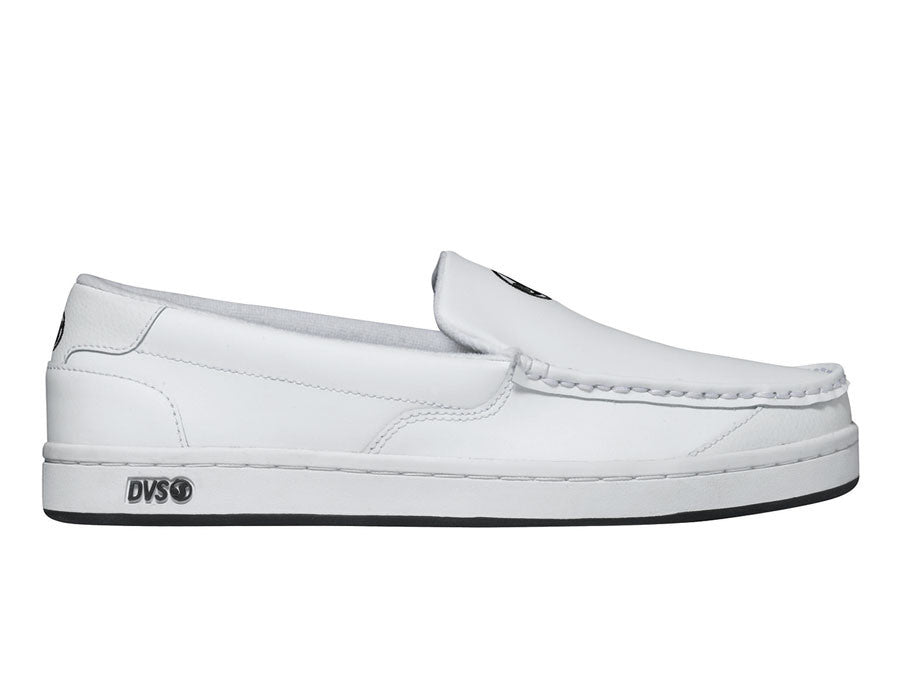 DVS Loma - White Leather 100 - Skateboard Shoes