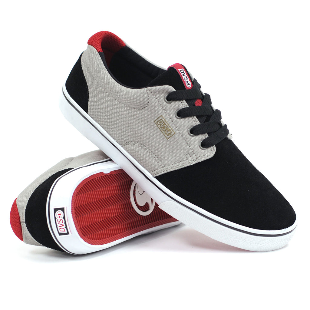 DVS Daewon 13 CT - Black/Grey Suede 002 - Men's Skateboard Shoes