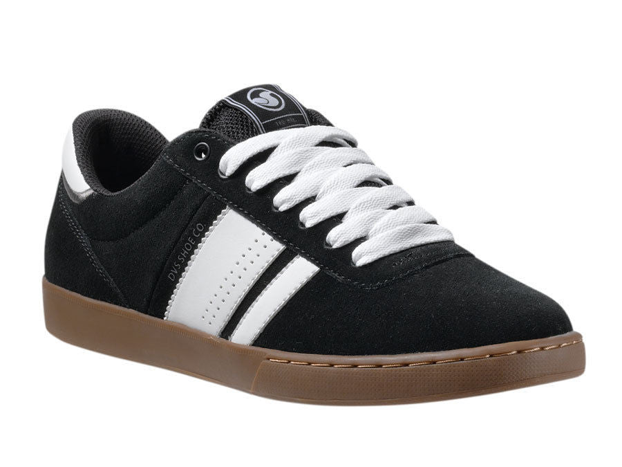 DVS Fulham Men's Skateboard Shoes - Black Suede 003