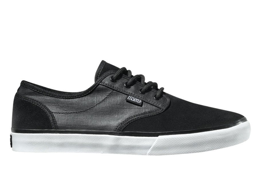 DVS Rico CT Men's Skateboard Shoes - Black Suede 966