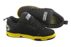 DVS Comanche Men's Skateboard Shoes - Black Nubuck 010