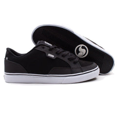 DVS Carson - Black/White Nubuck 015 - Skateboard Shoe