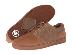 DVS Daewon 13 VPR - Brown Weave Suede 200 - Skateboard Shoes
