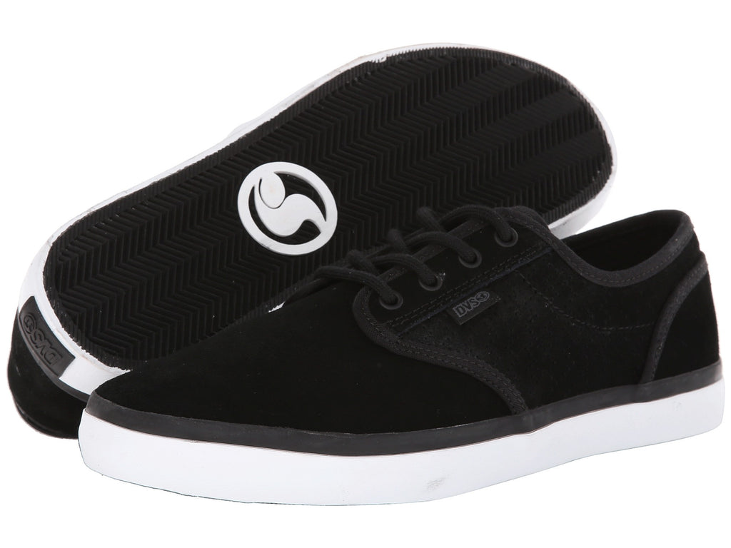 DVS Rico CT - Black Poster Suede 968 - Skateboard Shoes
