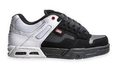 DVS Enduro Heir - White/Black Leather 109 - Skateboard Shoes