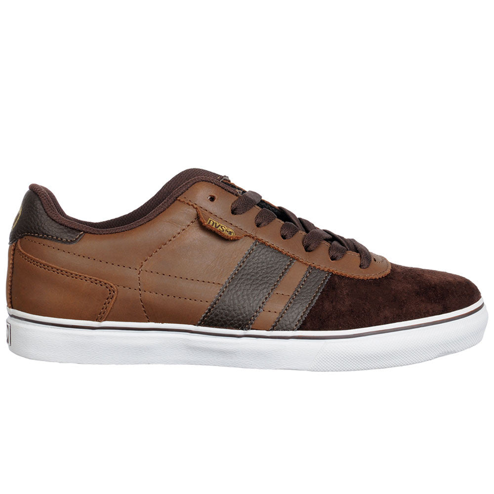 DVS Milan 2 CT Skateboard Shoes - Brown Oiled 200