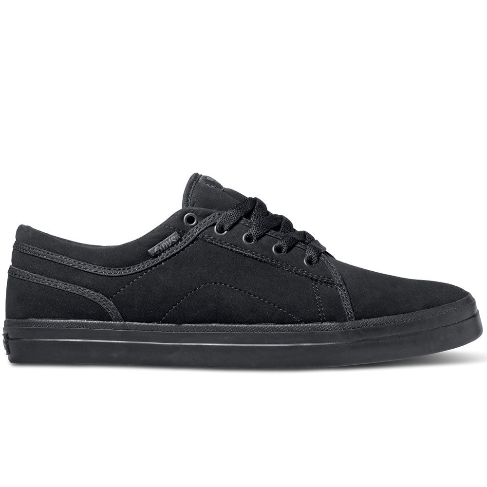 DVS Aversa Skateboard Shoes - Black/Grey Nubuck 003