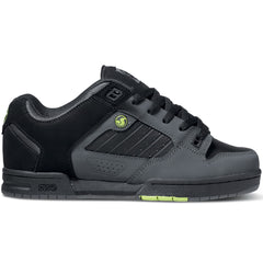 DVS Militia Skateboard Shoes - Black Leather Nubuck 963