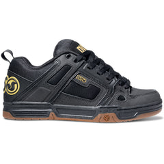 DVS Comanche Skateboard Shoes - Black Gunny 017