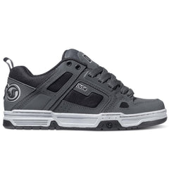 DVS Comanche Skateboard Shoes - Grey/Grey/Black Trubuck 025