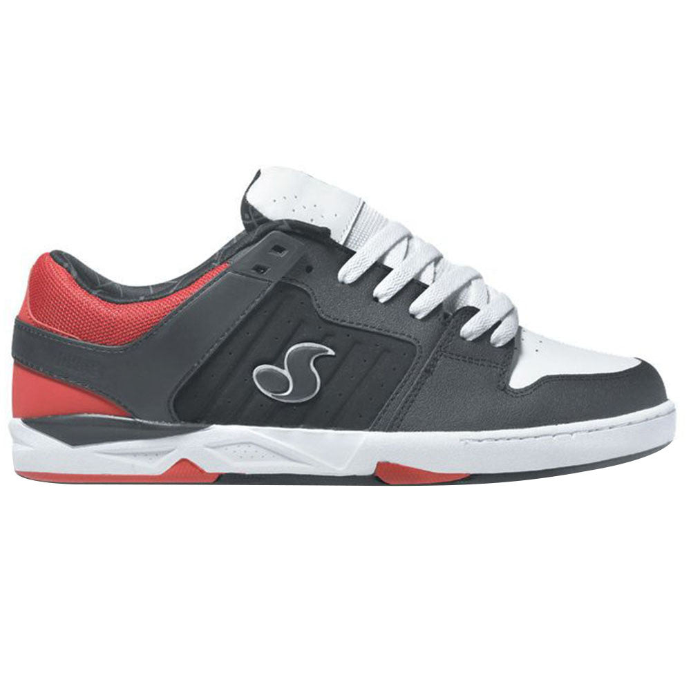 DVS Argon Skateboard Shoes - Black/Red Deegan 006