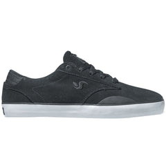 DVS Daewon 14 Skateboard Shoes - Black Suede 002