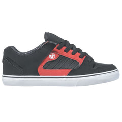 DVS Militia CT Skateboard Shoes - Black/Red Deegan 007