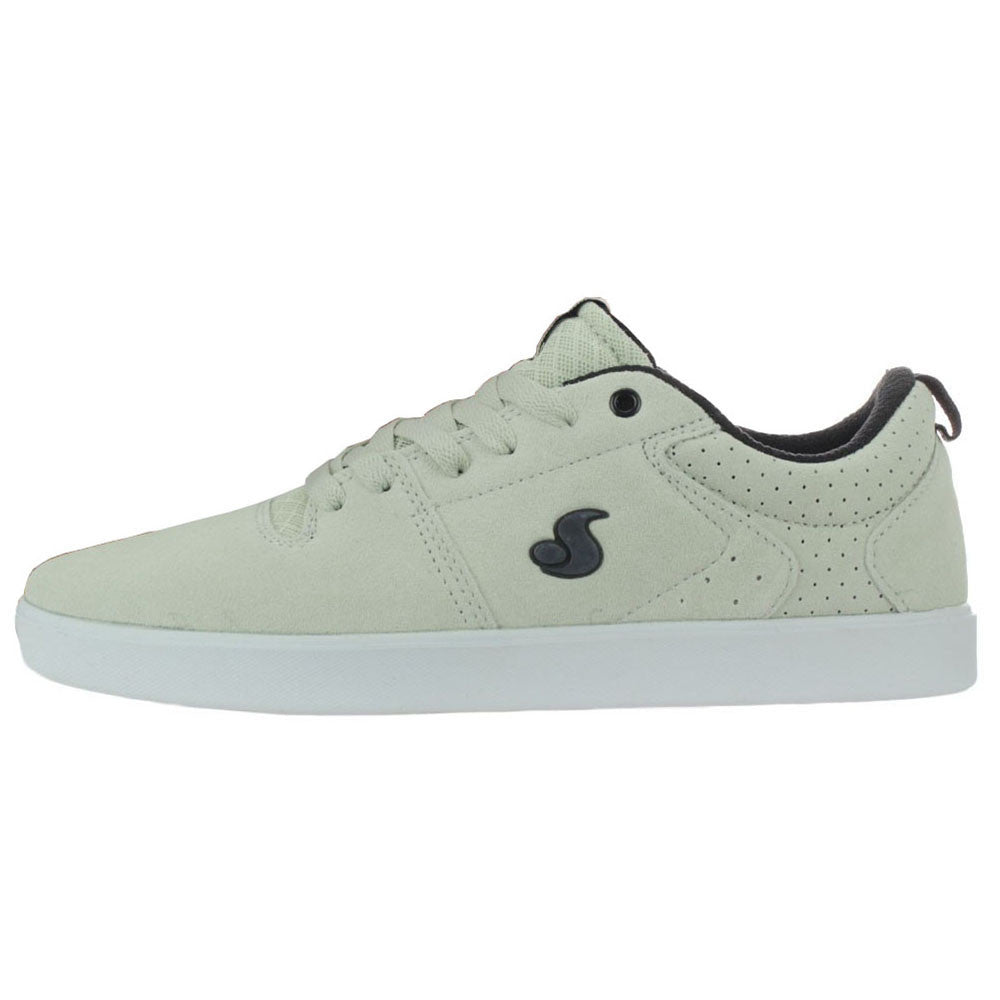 DVS Nica Skateboard Shoes - Silver Suede 040