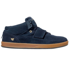 DVS Torey 3 Skateboard Shoes - Navy Suede 411