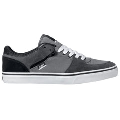 DVS Torey Lo Skateboard Shoes - Black/Grey Suede 022