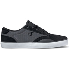 DVS Daewon 14 Skateboard Shoes - Black Herringbone 004