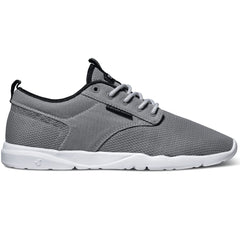 DVS Premier 2.0 Skateboard Shoes - Grey/Black Mesh 020