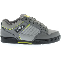 DVS Durham Skateboard Shoes - Grey/Lime Nubuck 022
