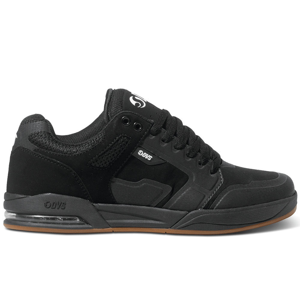 DVS Enduro X Skateboard Shoes - Black Nubuck 001